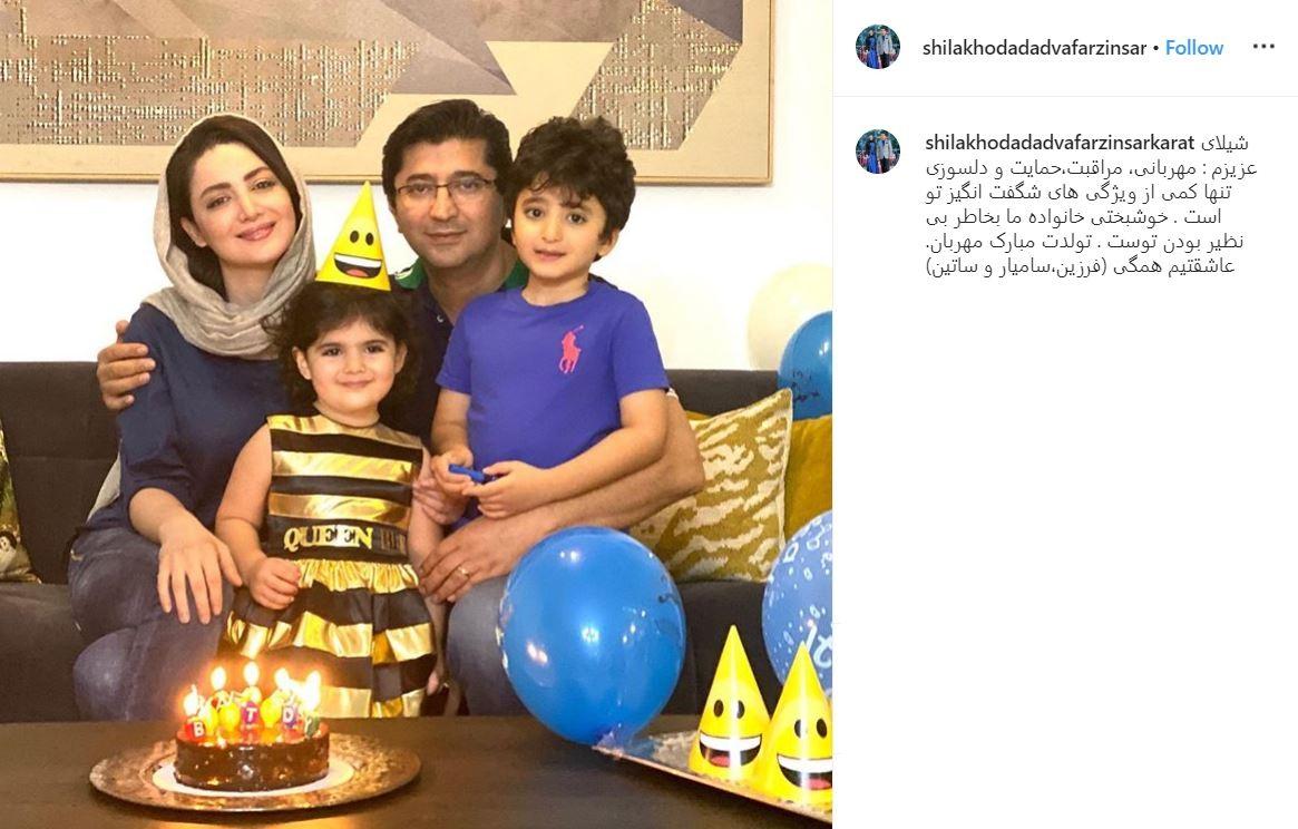 عکس| جشن تولد شیلا خداد و پرستو صالحی