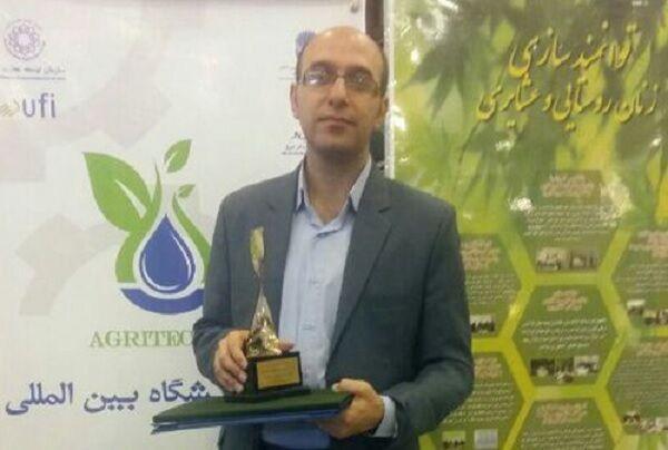 استاد دانشگاه شیراز دانشمند برتر آکادمی علوم جهان شد