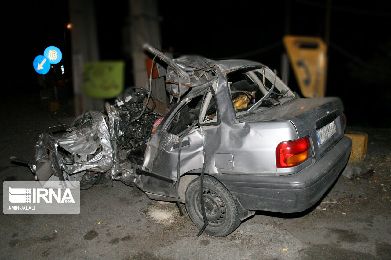تصادف در جیرفت/ ۳ نفر کشته شدند