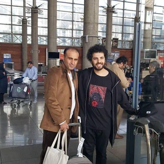 نوید محمدزاده، سعید روستایی و محسن تنابنده پس از بازگشت از توکیو +عکس