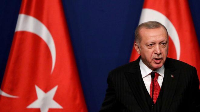 اردوغان: ممکن است اعتراضات عراق به ایران گسترش پیدا کنند