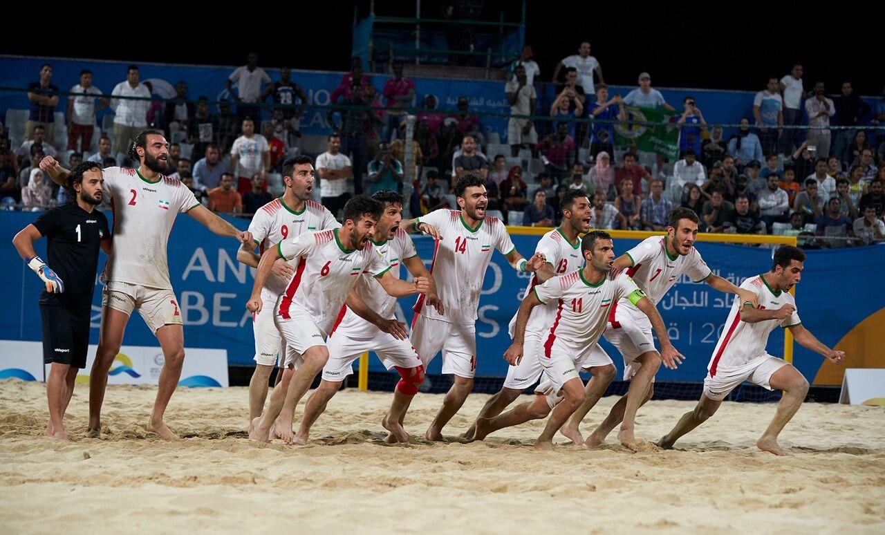 تیم ملی فوتبال ساحلی ایران فینالیست جام بین قارهای شد