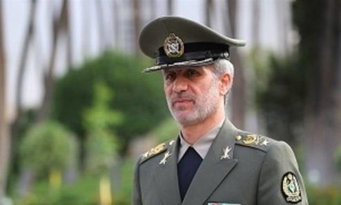 واکنش وزیر دفاع به ادعای ترامپ درباره حمله به ایران
