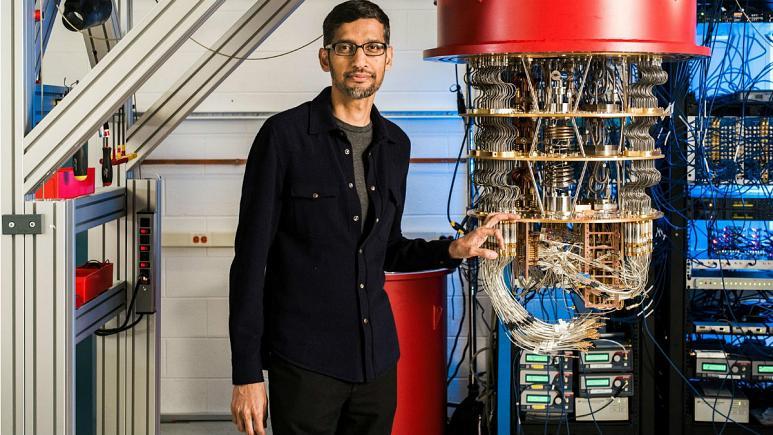گوگل موفق به ساخت یک کامپیوتر کوانتومی شده