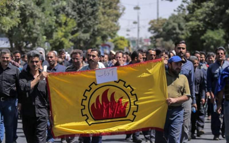 38 کارگر بازداشتی آذرآب به قید ضمانت آزاد شدند