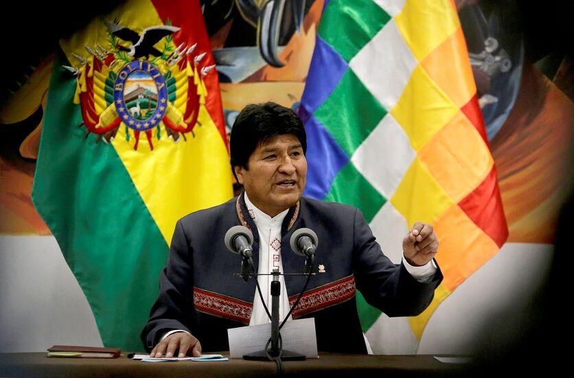 رئیسجمهور بولیوی استعفا کرد