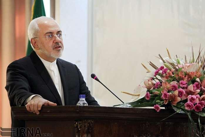 ظریف: اعتراض قانونمند حق مردم است/ حمایت آمریکا از مردم ایران دروغی شرمآور است
