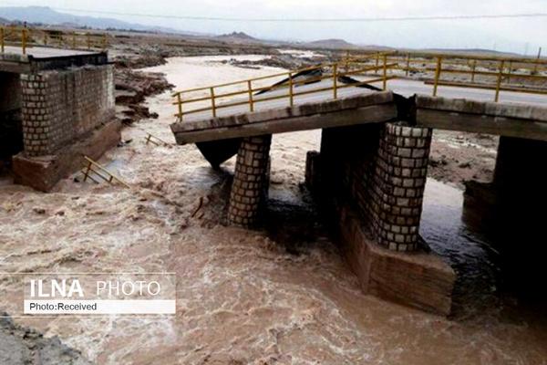 باران شدید دیروز ۵ خانه و ۲ پل را در قزوین ویران کرد