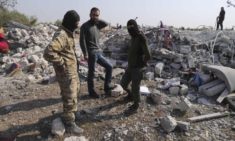 ابوبکر بغدادی رهبر داعش، همراه سه فرزندش در سوریه کشته شد