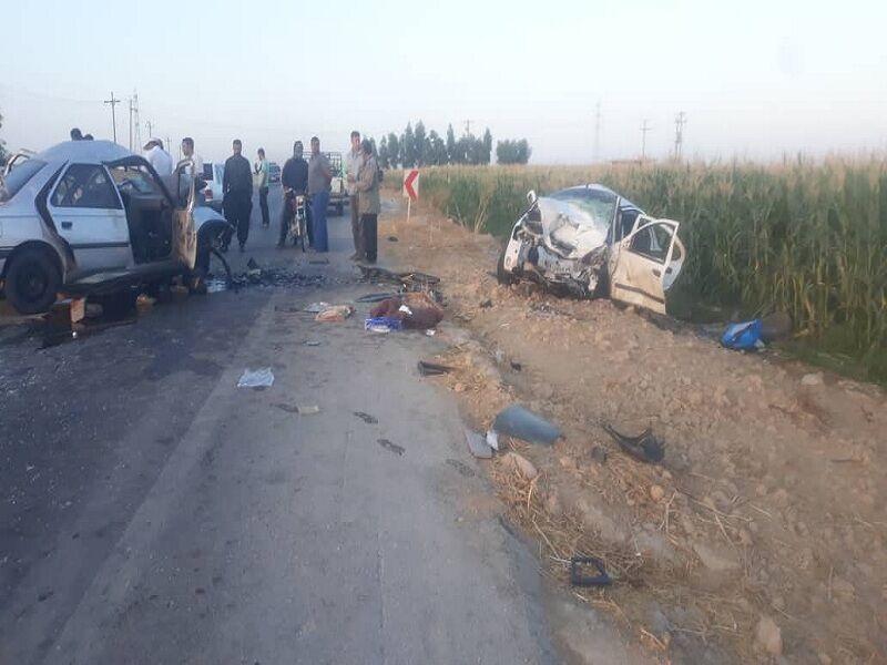 تصادف در گتوند 2 کشته برجا گذاشت