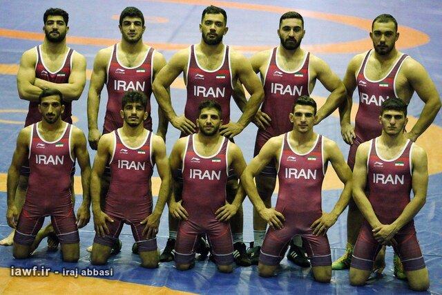 کشتی آزاد ایران نایب قهرمان جهان شد
