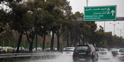 باران بارید، هوای پایتخت سالم شد