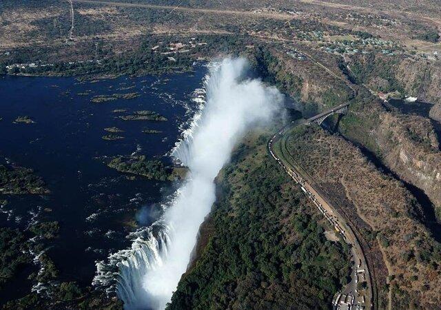 احتمال خشک شدن آبشار ویکتوریا به دلیل تغییرات اقلیمی