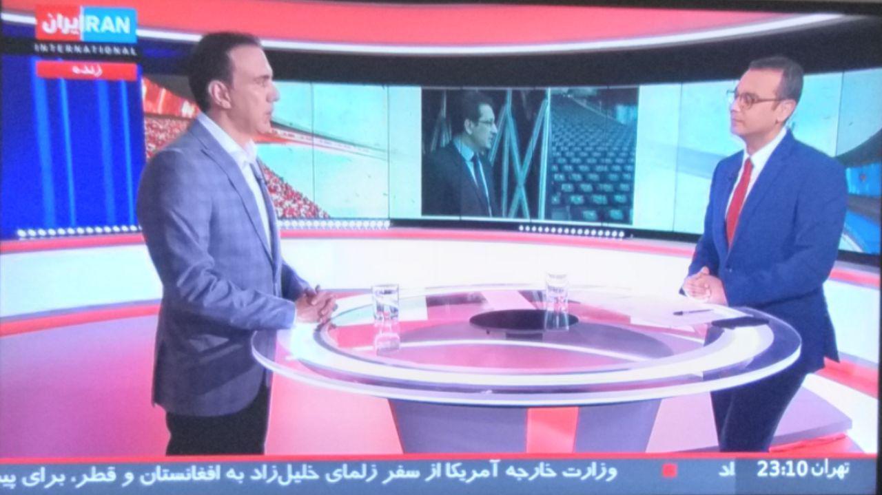 عکس| اولین اجرای مزدک میرزایی در ایراناینترنشنال