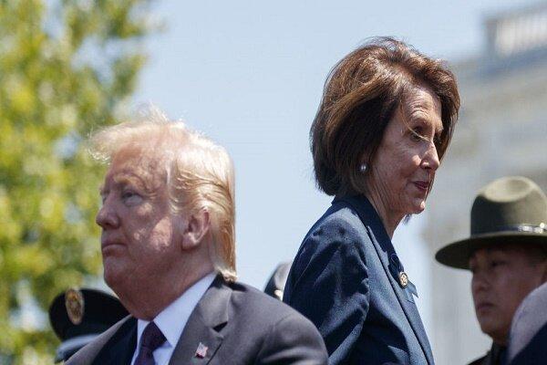 واکنش ترامپ به دستور پلوسی برای استیضاح
