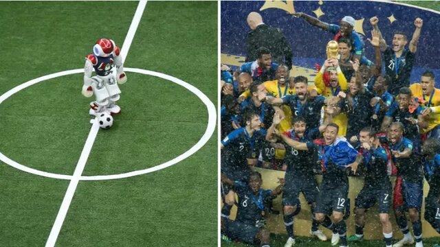 تیم روباتها قهرمان جام جهانی را شکست میدهد!