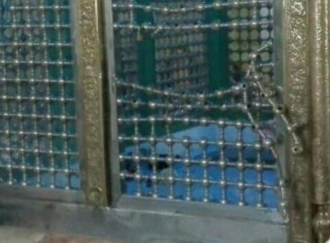 سرقت از یک امامزاده در ارومیه +عکس