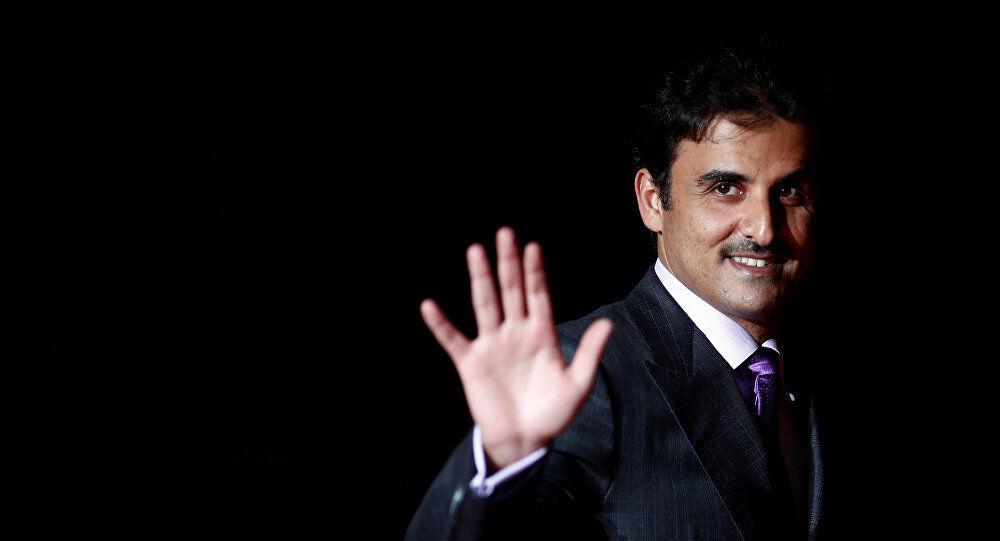 آیا امیر قطر به شبکه الجزیره پیامی ارسال کرده است؟