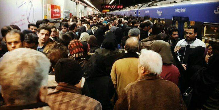 ماجرای ازدحام جمعیت در مترو تهران چه بود؟