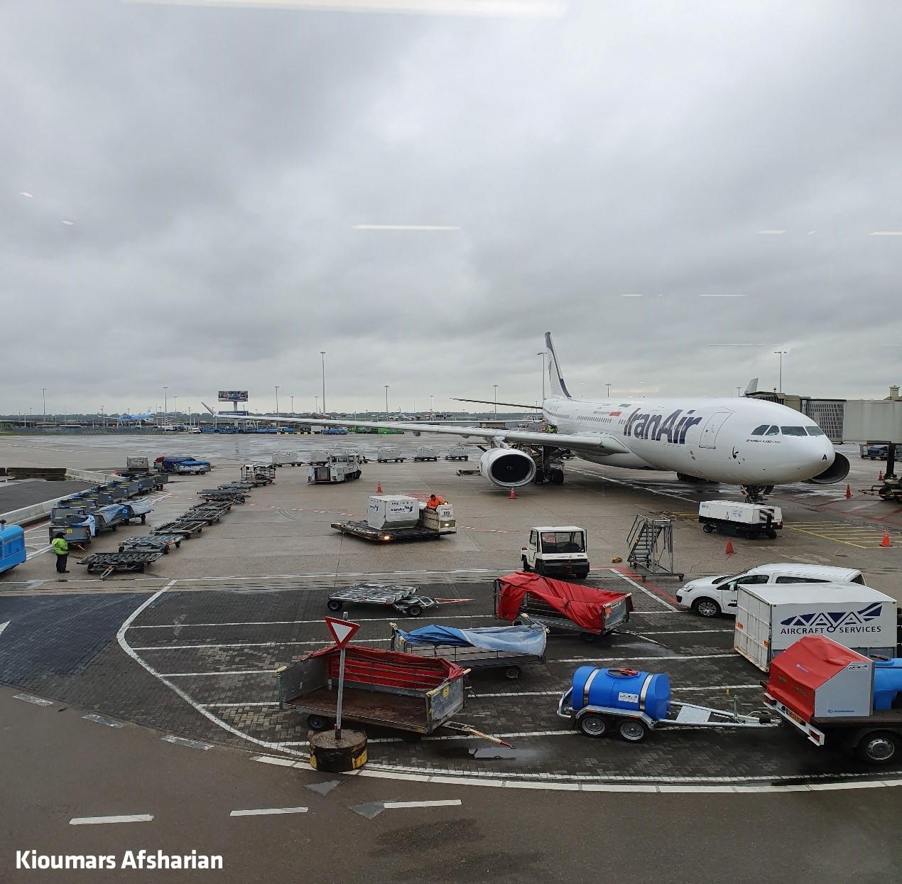 آشنایی با فرودگاه شیفول آمستردام+عکس