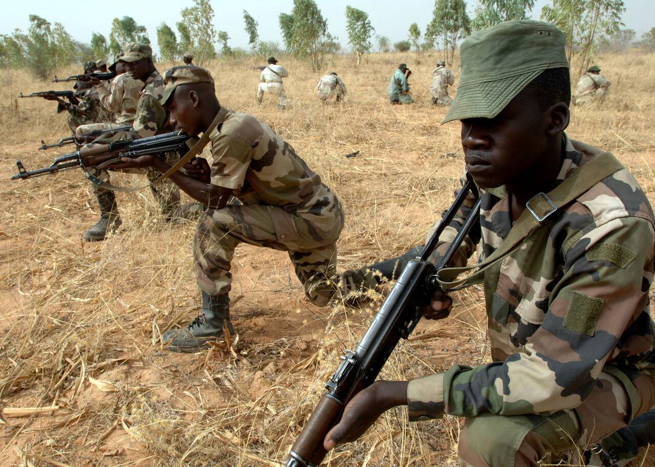 حمله افراد مسلح به پادگانی در نیجر/70 نفر کشته شدند