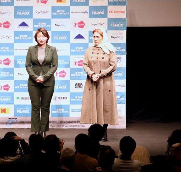 عکس| حجاب بهناز جعفری در جشنواره توکیو