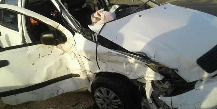 مرگ دلخراش راننده سمند بر اثر برخورد با کامیون در گرگان
