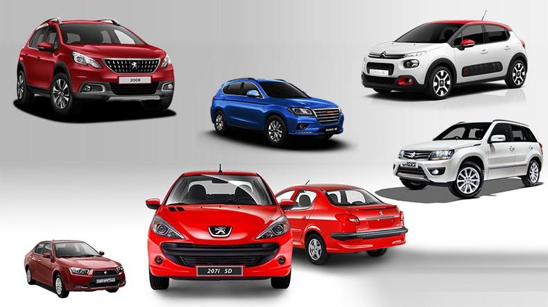 تارهترین قیمت خودرو در بازار+جدول
