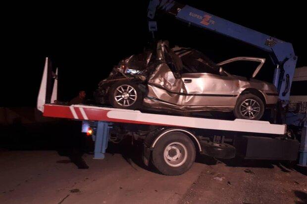 وقوع ۴ حادثه رانندگی در استان سمنان/ ۵ نفر جان باختند