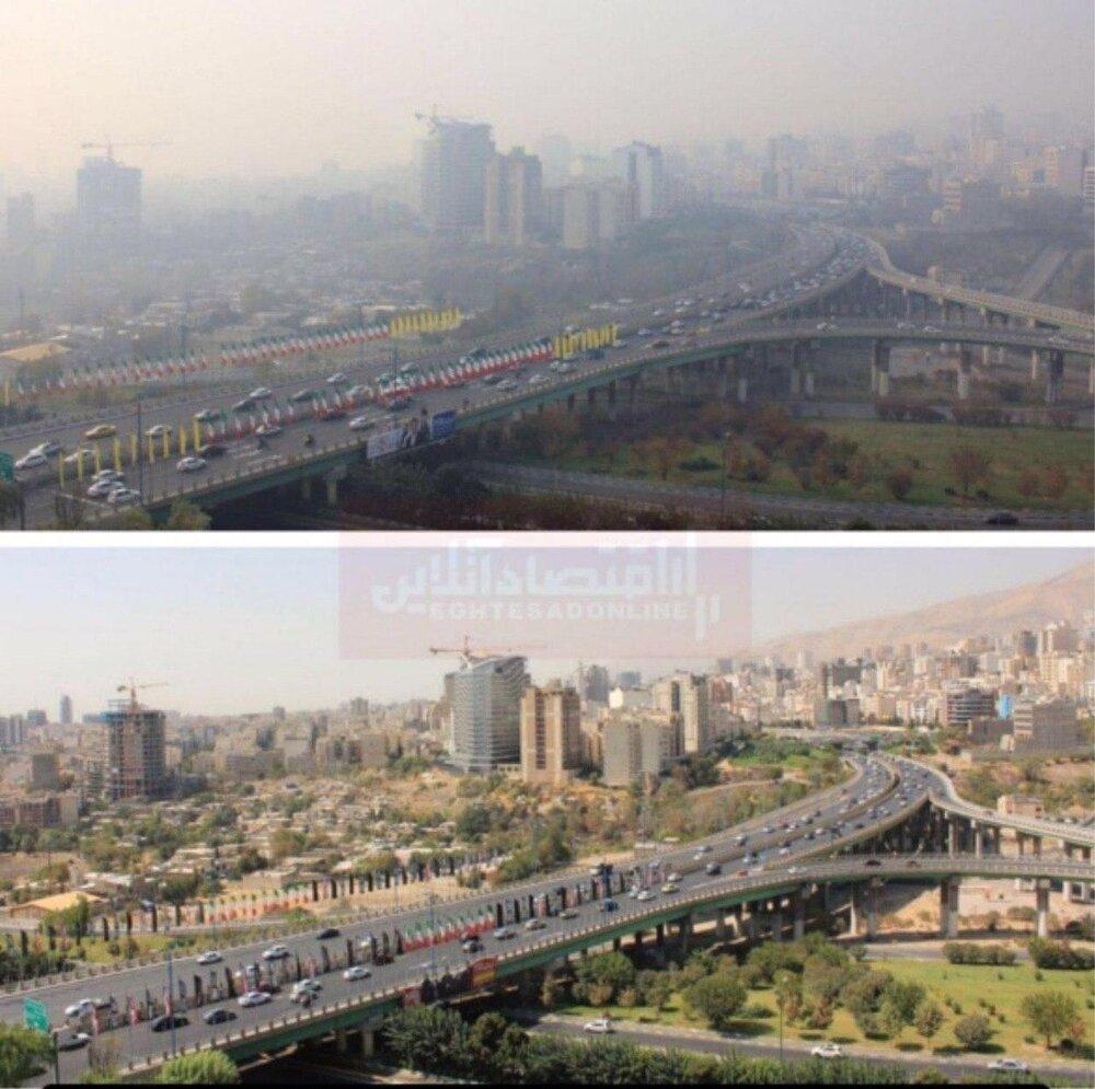 بحران در تهران به روایت تصویر!
