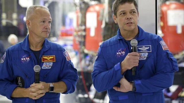 اعزام فضانوردان به فضا از خاک آمریکا، پس از 9 سال