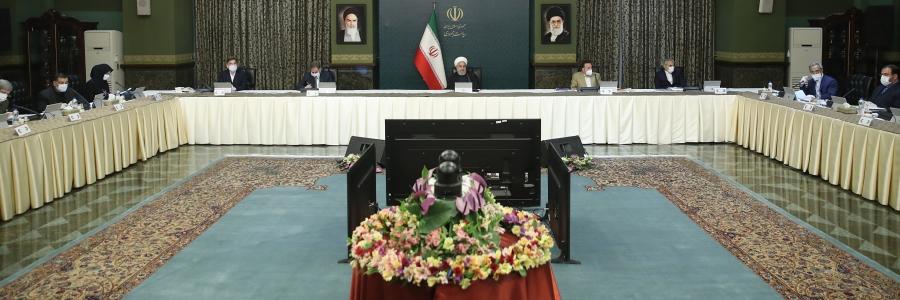 روحانی: به جز اقلیت کوچکی، کارمندهای دولت سر کار نیستند و تعطیل شدهاند/ کمبود تخت بیمارستانی و پرستار نداریم