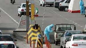 ترافیک نیمه سنگین در محدودههای انجام تست کرونا
