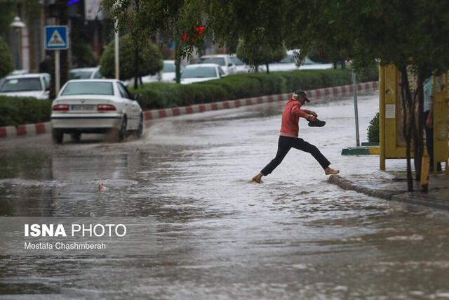 ۳ استان کشور در معرض بارش شدید باران