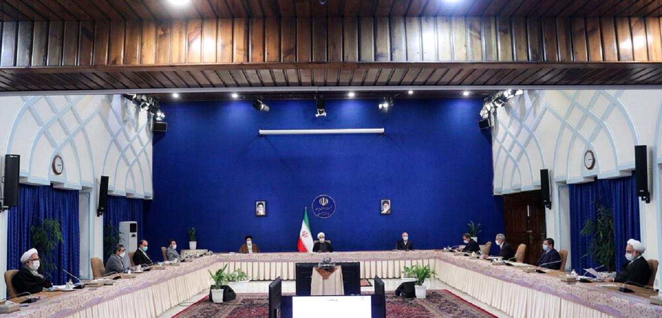 تصاویر| جلسه شورای عالی هماهنگی اقتصادی با حضور روحانی، قالیباف و رئیسی