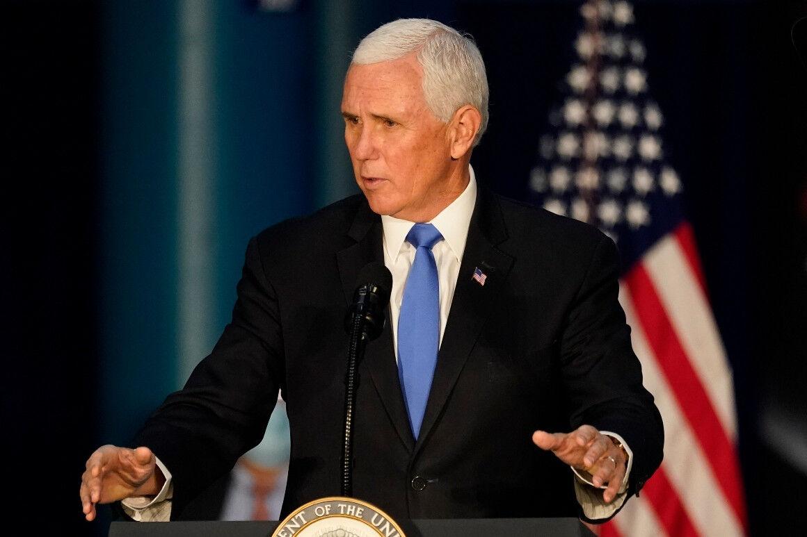 پنس درخواست تندروها برای اعلام پیروزی ترامپ را رد کرد