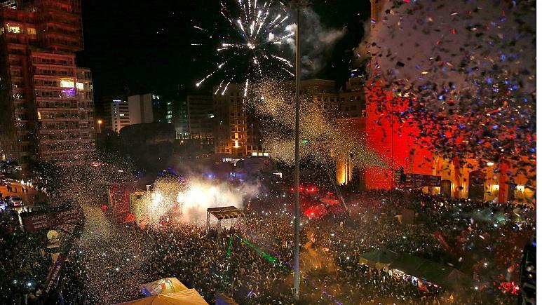 برگزاری جشنهای آغاز سال نو میلادی در کشورهای مختلف جهان