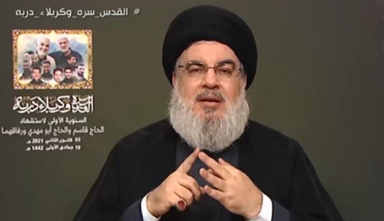 نصرالله: ایران بخواهد واکنش نظامی نشان میدهد