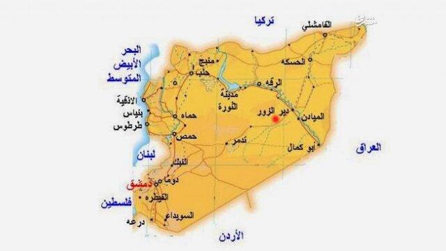 حمله به تانکر نفت سرقت شده در شرق سوریه