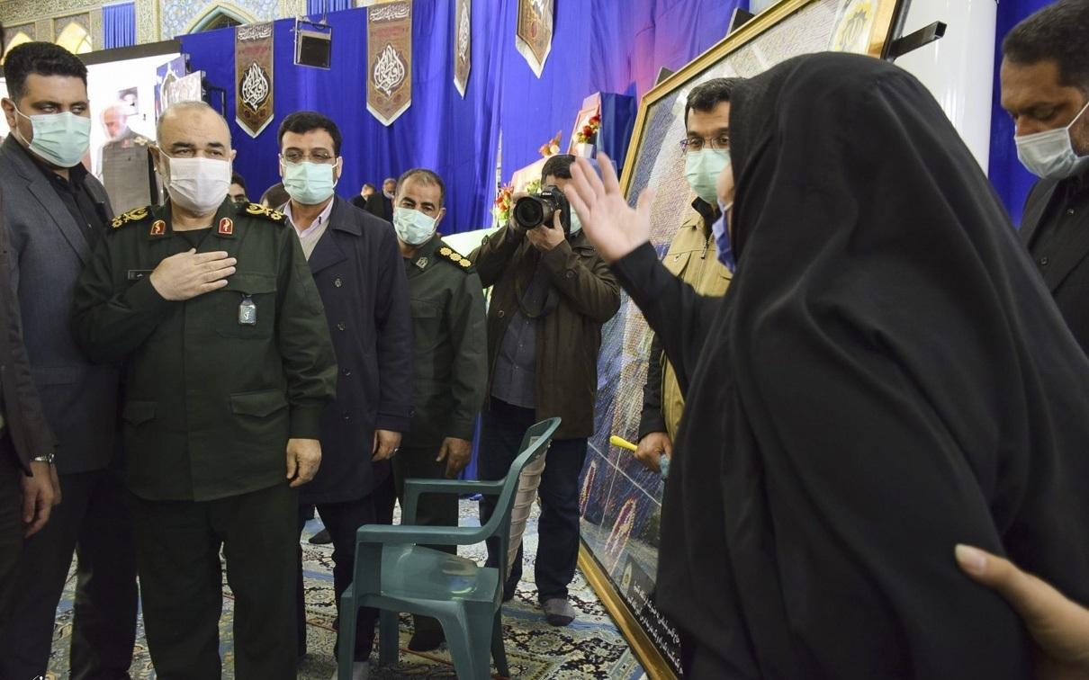 تصاویر| مراسم سالگرد شهادت سردار سلیمانی در کرمان