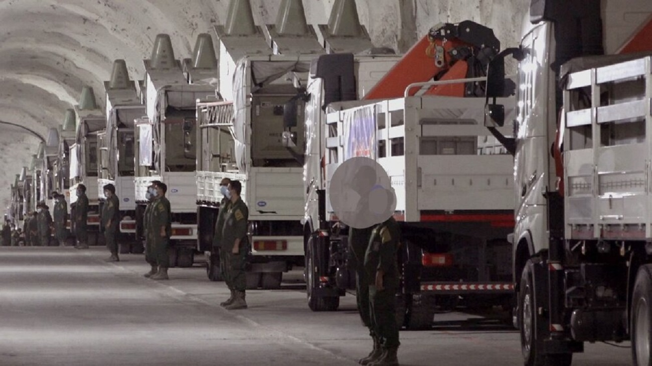 تصاویر  پایگاه موشکی سپاه در سواحل خلیج فارس