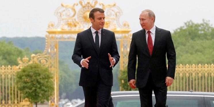 رایزنی پوتین و ماکرون درباره نشست سران روسیه، ارمنستان و جمهوری آذربایجان