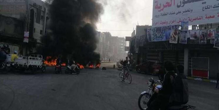 درگیریها در الناصریه عراق با یک کشته و دهها زخمی پایان یافت
