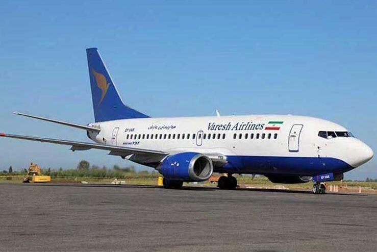 نقص فنی هواپیمای کارون و فرود در مهرآباد