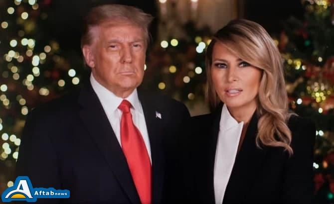 تصاویر  کریسمس ایوانکا ترامپ و پدرش بدون حضور بانوی اول آمریکا؛ ملانیا از ترامپ جدا شد؟