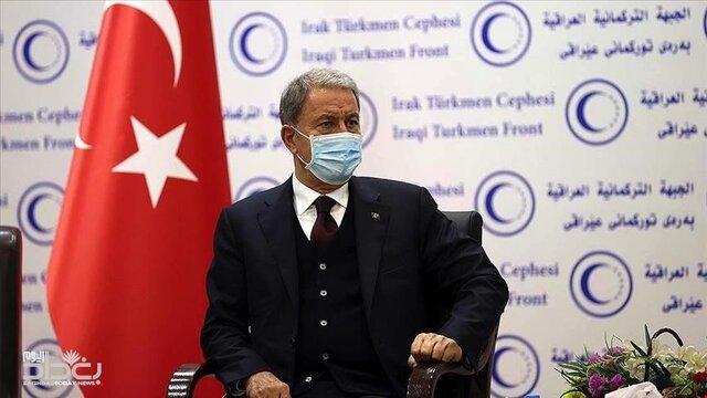وزیر دفاع ترکیه در پایان سفرش به عراق: در مرحله آتی تحولات امنیتی مهمی رخ خواهد داد