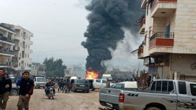 چندین کشته و زخمی در انفجار خودروی بمبگذاری شده در عفرین سوریه