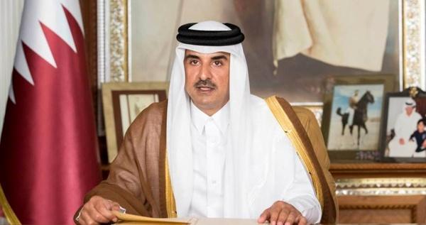 موافقت امیر قطر با کمک ۳۶۰ میلیون دلاری به غزه