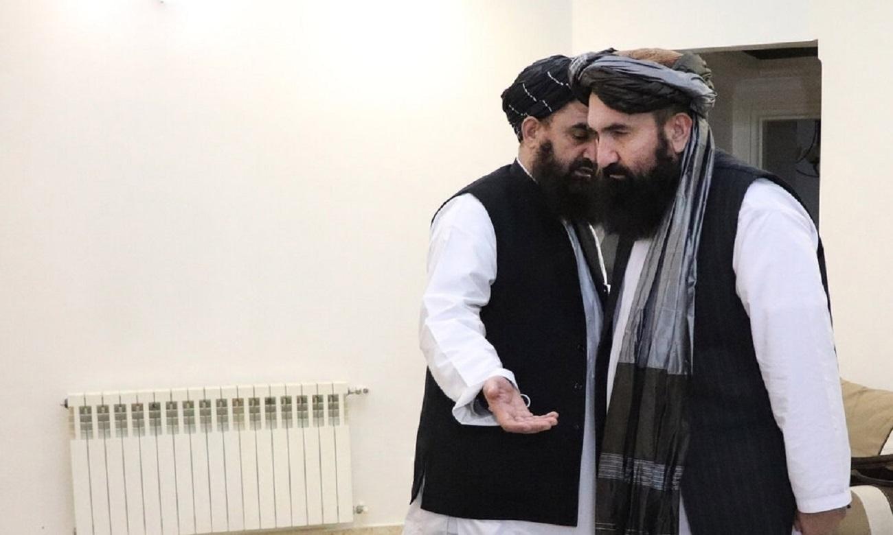 تصاویر| نشست خبری طالبان در تهران