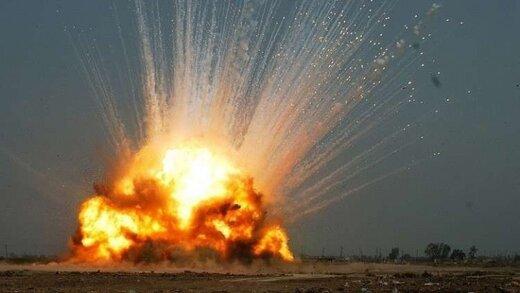 انفجار شدید در حومه ادلب